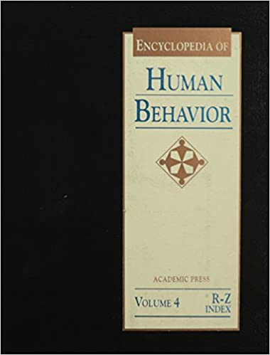 Download online Encyclopedia of human behavior Volume 4 R-Z and Index PDF, azw (Kindle)