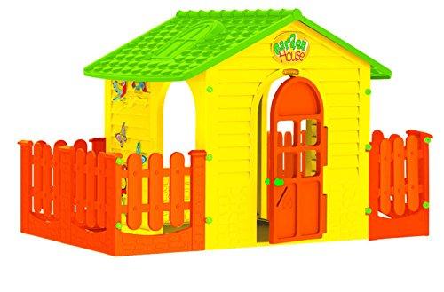Großes Spielhaus mit Doppelzaun für Spiele | Kinder lieben es! MuseHouse