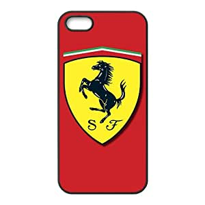 YESGG Ferrari sign fashion cell phone case for iPhone 5S