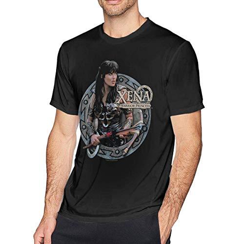 Mens Xena Princess Warrior Tee T-Shirt Black,Black,X-Large -