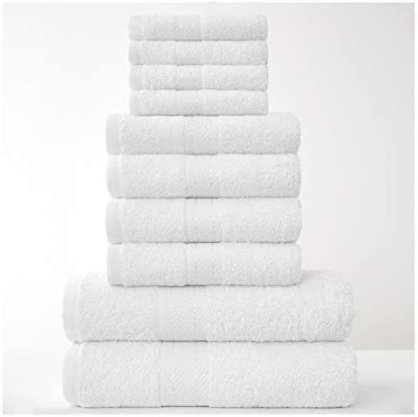 Toallas de ba/ño Toallas de ba/ño de algod/ón Hoja de ba/ño de lujo para el hogar los ba/ños la piscina y el gimnasio Algod/ón de anillos 4X Toallas de mano Juegos de toallas
