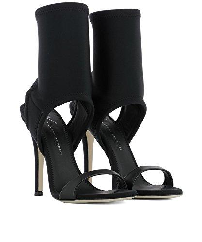 Tela Mujer Design Sandalias Negro Zanotti E800060002 Giuseppe 5EXZOqw