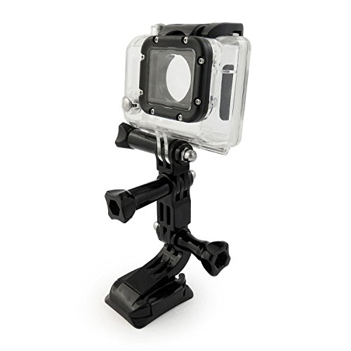TOOGOO 9 in 1 Helmet Front Side Quick Clip Mount Kit GoPro Hero 6 5 4 3 2 Session by TOOGOO (Image #6)