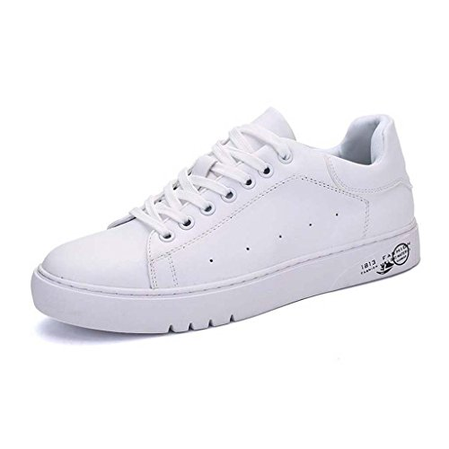 ZXCV Zapatos al aire libre Zapatos de zapatos de color puro zapatos de zapatos casuales zapatos blancos pequeños Blanco