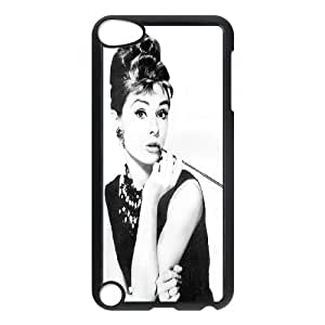 Unique Phone Case Design 17Super Movie Star Audrey Hepburn- FOR Ipod Touch 5