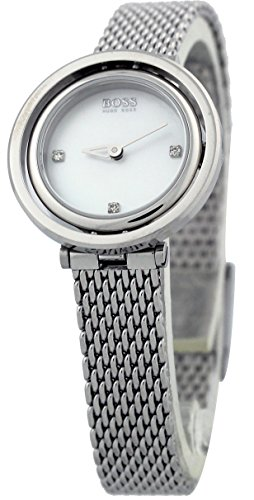 Hugo Boss Black 1502340 Classic Elegance Women's Milanese Mesh Watch