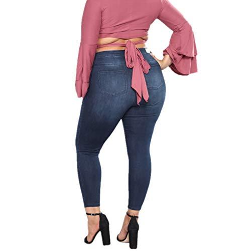 Amabubblezing Jean Stretch Stretch Skinny Style Haute Femme Jeans en Haute Jeans 1 Taille Taille apa1rgq