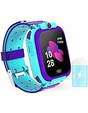 WESSD Smart Fitness Tracker Polshorloge 1. 44 Inch Waterdichte Baby Kids Activity Tracker Hartslagmeter Met Voice Chat Lbs Finder Locator Verjaardagsvakantie Voor Kinderen Jongens