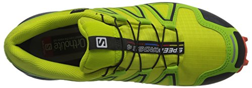 Giallo Spring flame sulphur Trail Da 4 Green Uomo lime Running Speedcross Scarpe Salomon U1xSg0qq