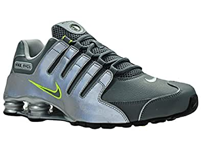 Amazon.com | NIKE Shox NZ EU Silver/Grey 501524-025 (SIZE