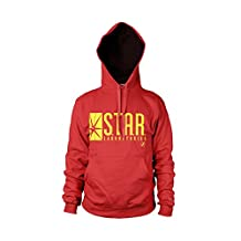 Officially Licensed Merchandise The Flash - Star Laboratories Hoodie