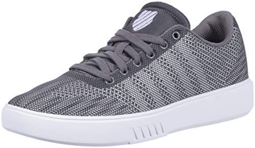 K Swiss Court Addison Herren Sneakers Low Top Grau Größe 47
