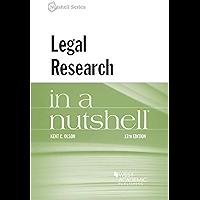 Legal Research in a Nutshell (Nutshells)