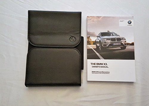 2016 BMW X3 Owners Manual 04981