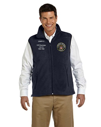 Fleece Embroidered Vest - 6