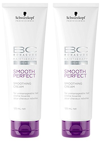 BC Bonacure SMOOTH PERFECT Smoothing Cream, 4.23-Ounce 2-Pack