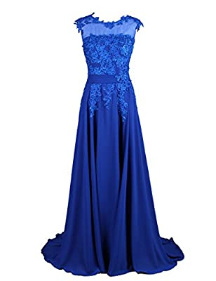 Dresstells Long Bridesmaid Dress Applique Prom Dress Evening Party Gowns