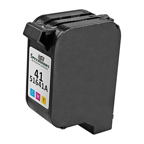 Speedy Inks - Remanufactured Replacement Ink Cartridge for Hewlett Packard 51641A HP 41 Tri-Color for use in Color Copier 110, Color Copier 120, Deskjet 820, 820C, 820Cse, 820Cxi, 850, 850C, (1150cse Ink)