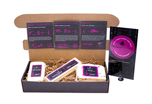 Perfect Partners Cheese for Red Wine Pairing Box, 24 Ounce (Red Wine For Gift)