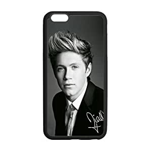 Diy Yourself Custom Black and White Niall Horan cell phone case cover Laser Technology for JscrHiXhaci iphone 6 4.7 Designed by HnW Accessories