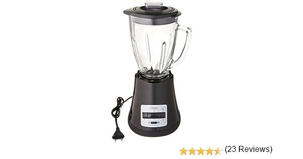 Oster blstmg negro 8 velocidad 6 tazas – Batidora con jarra de cristal, 220 voltios (no para EE. UU.): Amazon.es: Hogar