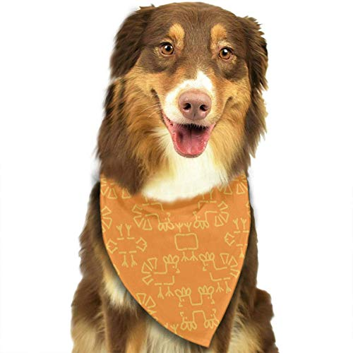 compass her in The Meadow Chickens 3 Wallpaper Dog Bandanas Washable Triangle Adjustable Dog Scarf