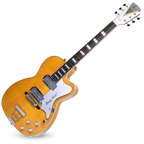"Kay Vintage Reissue Barney Kessel Signature Series""Pro"" Semi-Hollow-Body Electric Guitar (K1700VB) ("