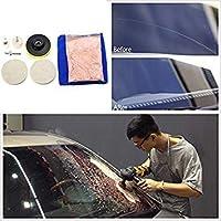 Mayitr 1set Durable Universal Auto Car Windscreen Window Scratch Repair Remover Glass Polishing Kit Hand Polishing Grinding Tool