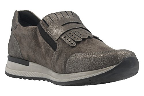 42 Women's Grey R7009 Schuh Flats union Loafer CqwBFvAxpt