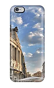 New Snap-on ZippyDoritEduard Skin Case Cover Compatible With Iphone 6 Plus- Madrid City