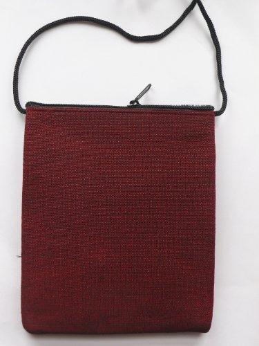 Elefante passaporto Borsa a tracolla, colore: nero con 2tasche