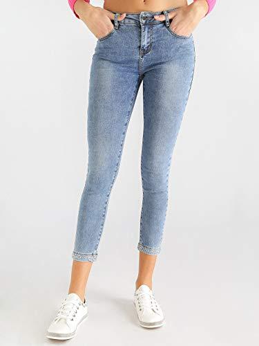 Elasticizzati Farfallina Farfallina Jeans Elasticizzati Jeans Strass Farfallina Con Strass Con pq0HRqw61