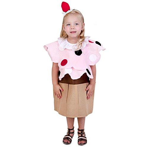 Child Cupcake Costume (Medium 7-10) -