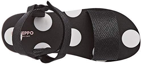 Noir 48685 Bout Gioseppo Ouvert Sandales Negro negro Femme Xxxwdq
