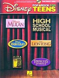 Hal Leonard Disney Pop/Rock for Teens - Young Women's Edition Book/CD