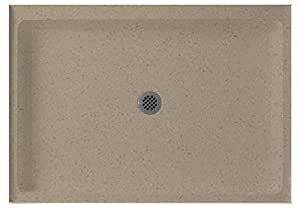 Swanstone SS-3248-091 48-Inch by 32-Inch by 5-1/2-Inch Single Threshold Showe.