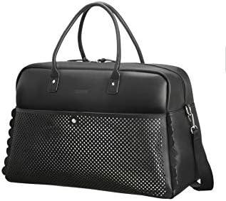 - 120353//1077 American Tourister Travel Duffle Black black//silver