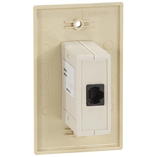 Black Box Wallplate Data Isolator 10/100Mbps 4K by Black Box