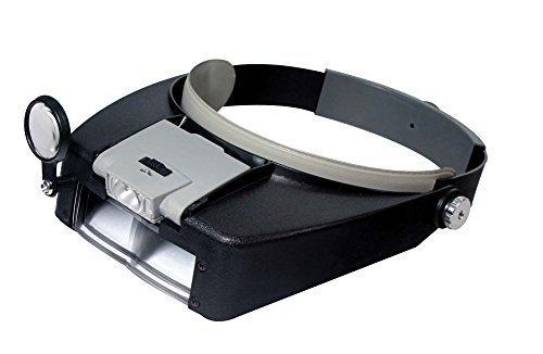 (Illuminated Multi-Power LED Head Magnifier )
