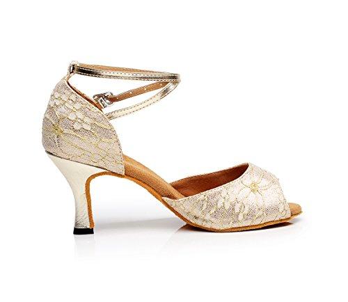 5cm de bal Minitoo femme 7 Salle Heel Gold c65ncqwYHR