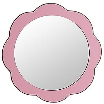 Miroir Pour Enfants, Miroir Mural, Miroir De Salle De Bain, Miroir Rond,