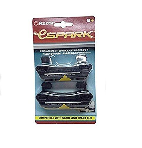 Razor Spark Replacement Cartridge, Black by Razor