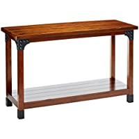 247SHOPATHOME Idf-4102S, sofa table, Oak