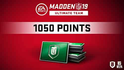 Madden 19 1050 Ultimate Team Points [Online Game Code]