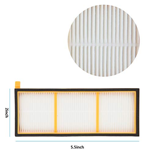 New Hot Vacuum Filter And Side Brushes Replacement Kit For Shark Ion Robot Rv700 Rv720 Rv750 Rv750c Rv755 Cleaning Appliance Parts Home Appliance Parts includes 4 Side Bru