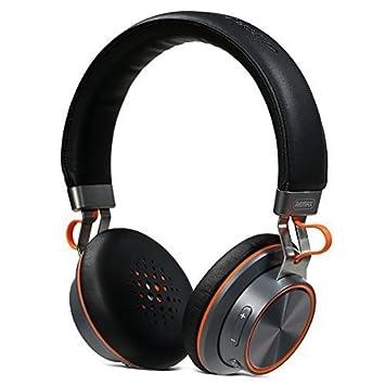 WIM Remax rb-195hb diadema Bluetooth auriculares estéreo inalámbricos auriculares Música auriculares Bluetooth V4.1 AUX Cable Multi puntero blanco y negro ...