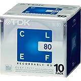 TDK MD CLEF 80分10枚パック MD-CL80X10N