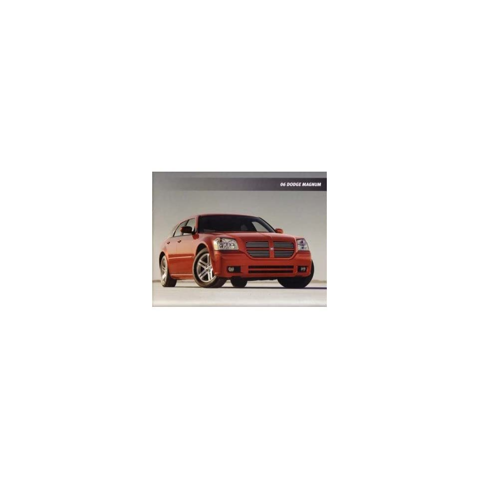 2006 Dodge Magnum Sales Brochure Literature Book Features Options Colors Specs