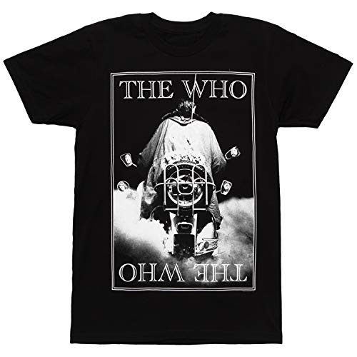 - Bravado  The Who Band Black White Photo Quadrophenia Adult T-Shirt-XL