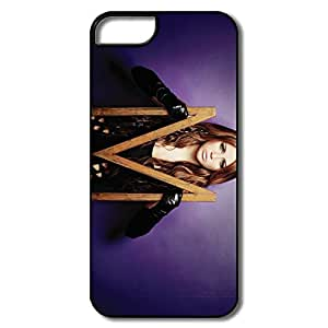 Vintage Customize Hard Back Cover Nature IPhone 5 5s Cases - M Miley Cyrus